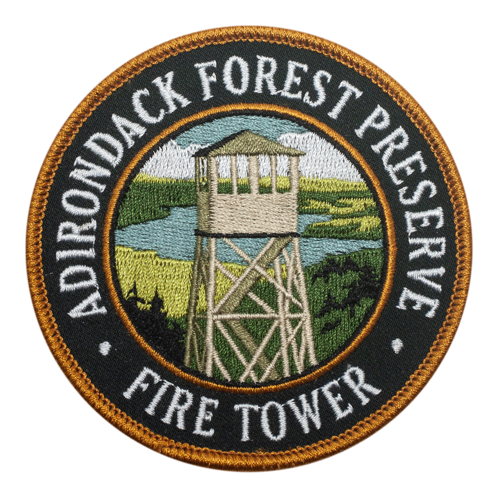 Adirondack Fire Tower Patch