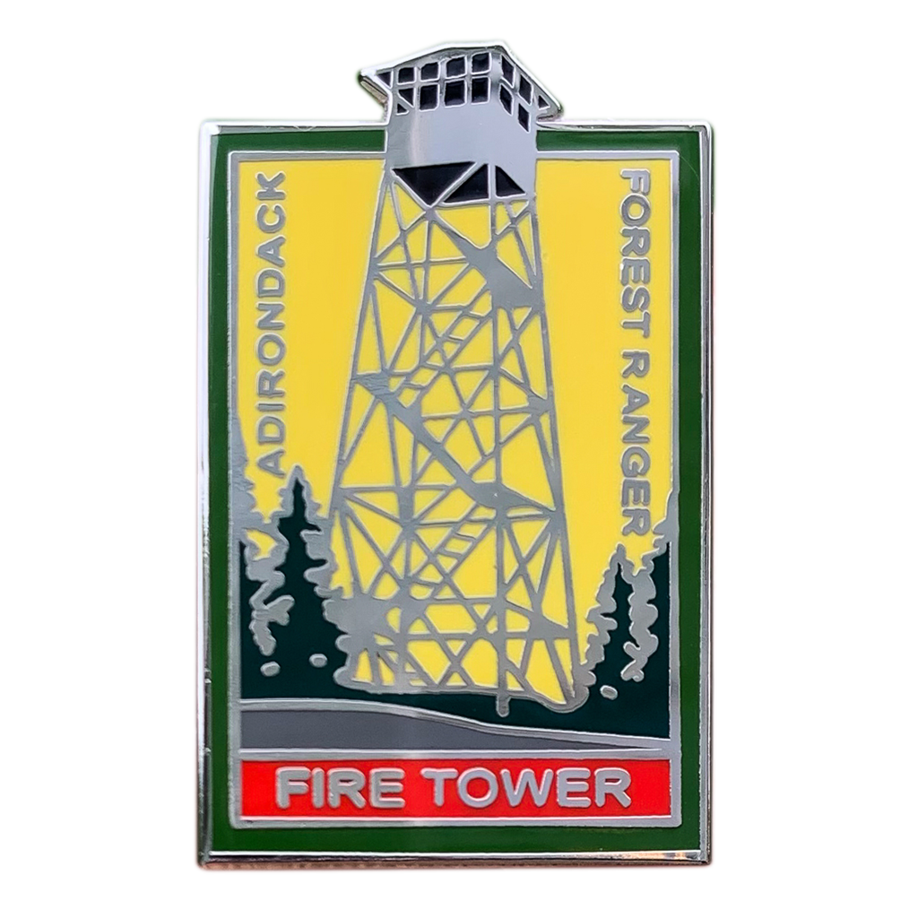 Adirondack Fire Tower Pin