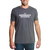 Adirondack Park Outline Tshirt -Deep Gray