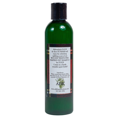 Woodsy White Pine Pampered Pet Shampoo for Dogs