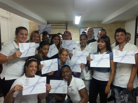 The Artecorte Community Project Students