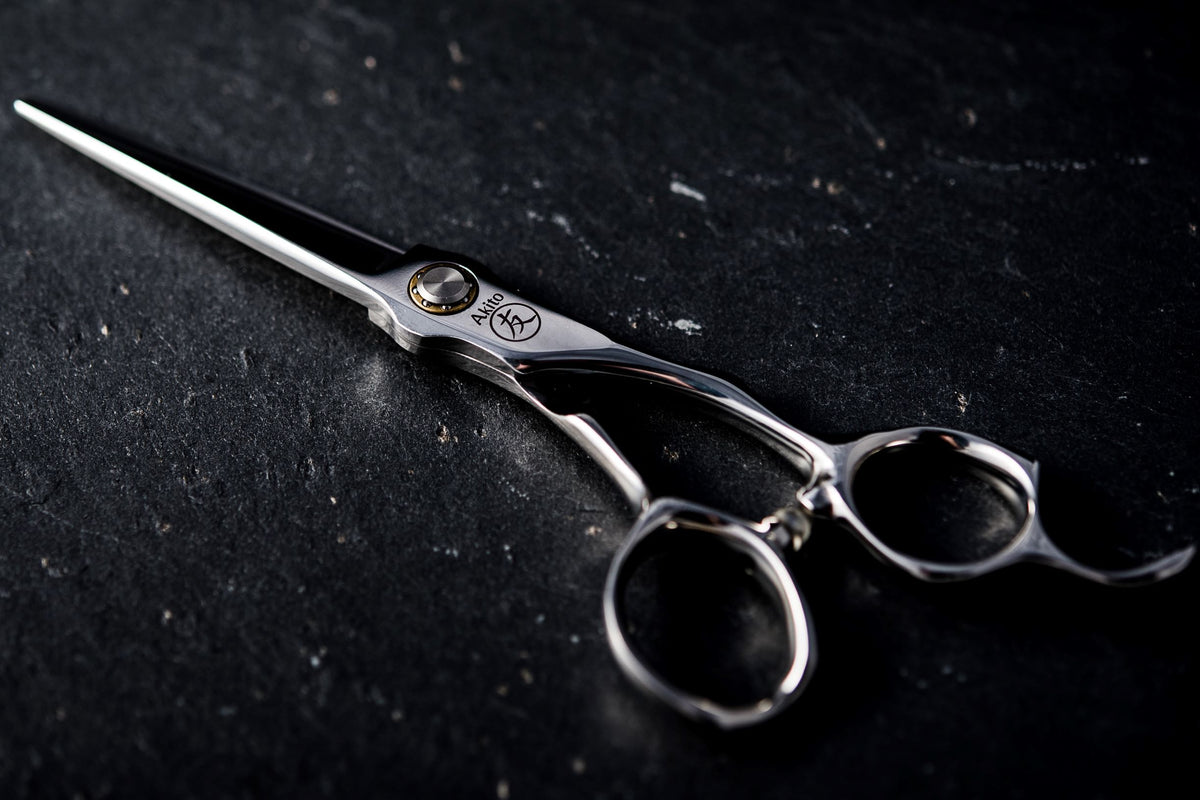 Kasai Professional Hairdressing and Barbering Scissor on Slate