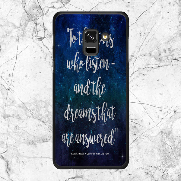 A Court Of Mist And Fury Samsung Galaxy A8 Plus 2018 Case