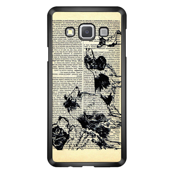 Vintage Dog on Paper Samsung Galaxy A8 2015 Case - Sixtyninecase