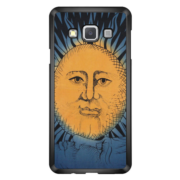 Vintage Sun Moon Painting Art Samsung Galaxy A7 2015 Case - Sixtyninecase