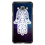 White Galaxy Chamsa Hamsa Hand Of God Samsung Galaxy A7 2015 Case - Sixtyninecase