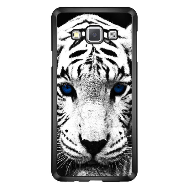 White Tiger Blue Eyes Samsung Galaxy A7 2015 Case - Sixtyninecase
