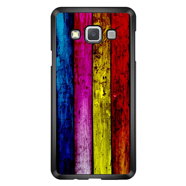 Wood Rainbow Samsung Galaxy A7 2015 Case - Sixtyninecase