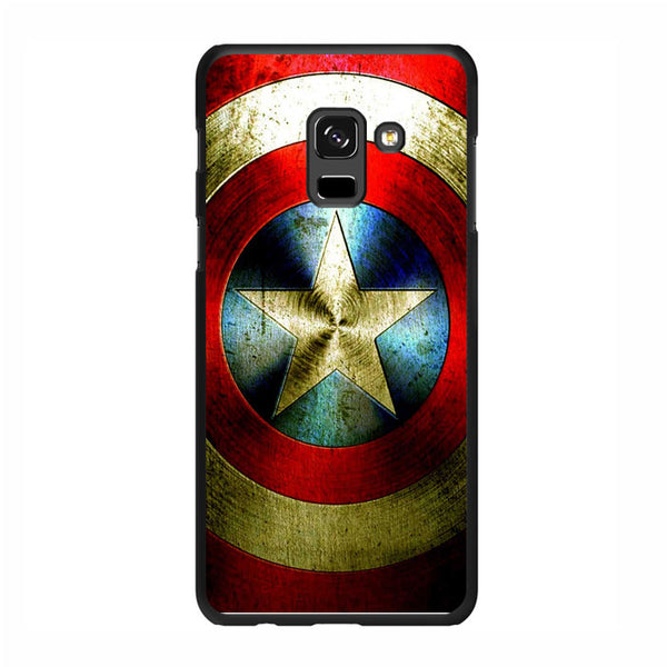Captain America Shield Samsung Galaxy A8 Plus 2018 Case - Sixtyninecase