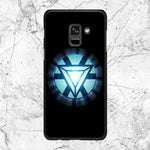 Ironman Glowing Logo Samsung Galaxy A6 2018 Case