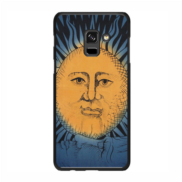 Sun Vintage Painting Art Samsung Galaxy A7 2018 Case - Sixtyninecase