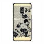 Vintage Dog on Paper Samsung Galaxy A7 2018 Case - Sixtyninecase