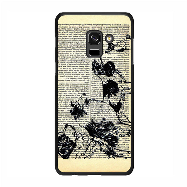 Vintage Dog on Paper Samsung Galaxy A5 2018 Case - Sixtyninecase