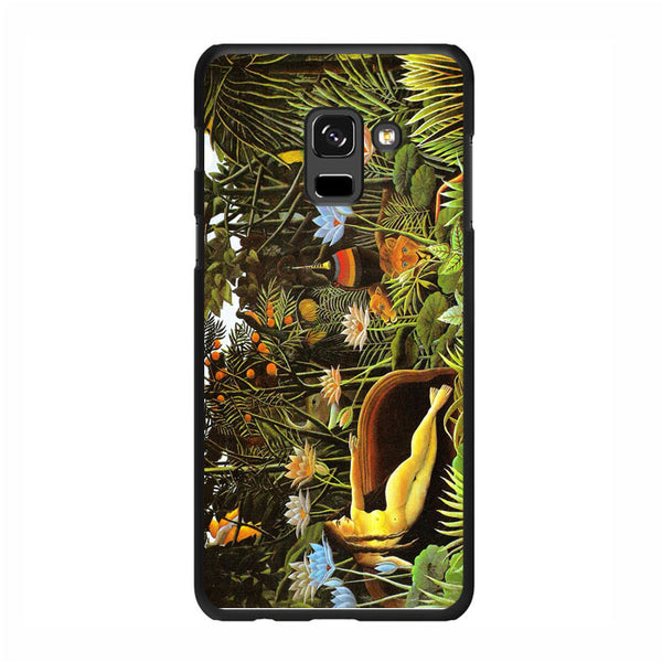 Vintage Painting Henri Rousseau Art Samsung Galaxy A5 2018 Case - Sixtyninecase