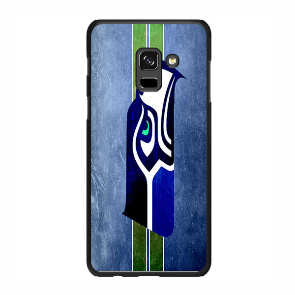 Vintage Seattle Seahawks Samsung Galaxy A5 2018 Case - Sixtyninecase