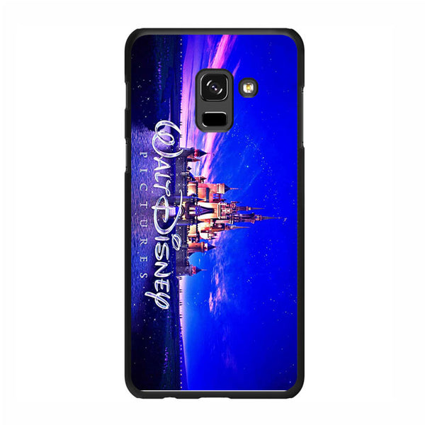 Walt Disney Castle Logo Picture Samsung Galaxy A8 Plus 2018 Case - Sixtyninecase