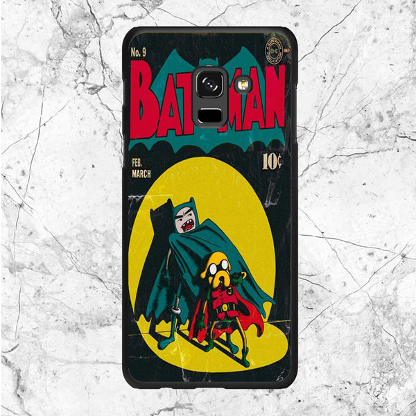 Adventure Time Batman And Robin Comic Samsung Galaxy A8 2018 Case