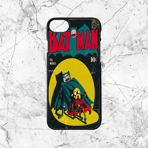 Adventure Time Batman And Robin Comic
