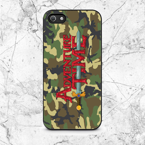 Adventure Time Camouflage iPhone 5|5S|SE Case