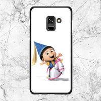 Agnes With Unicorn Samsung Galaxy A8 2018 Case
