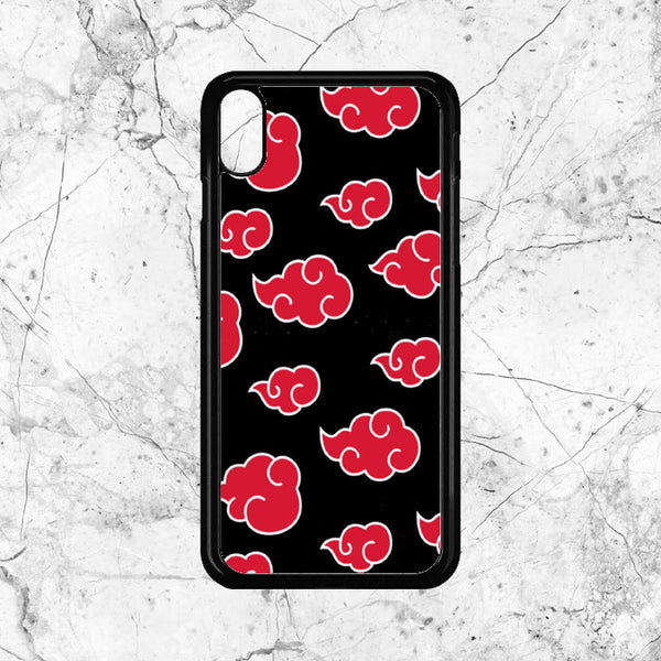 Akatsuki Art Pattern iPhone XS Max Case