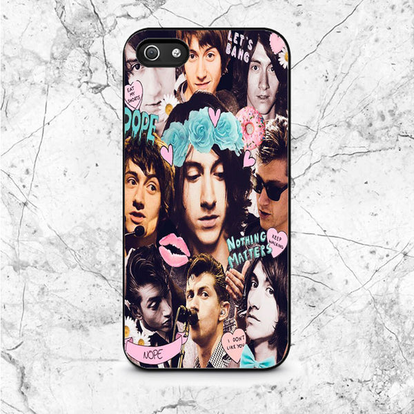Alex Turner Photo Collage iPhone 5|5S|SE Case