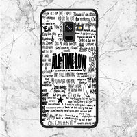 All Time Low Quote Song Samsung Galaxy A8 2018 Case