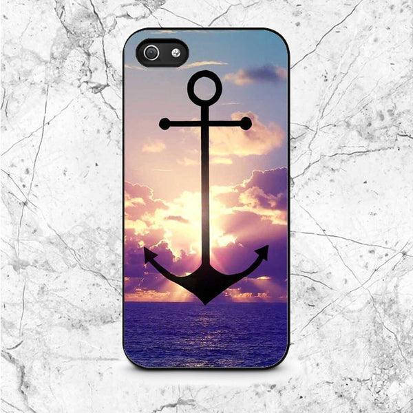 Anchor Refuse To Sink iPhone 5|5S|SE Case