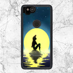 Ariel Little Mermaid On The Night Google Pixel 2 Case | Sixtyninecase
