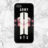 Army Floral Bts iPhone 5|5S|SE Case