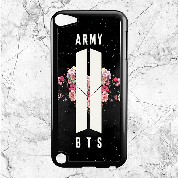 Army Floral Bts iPod 5 Case