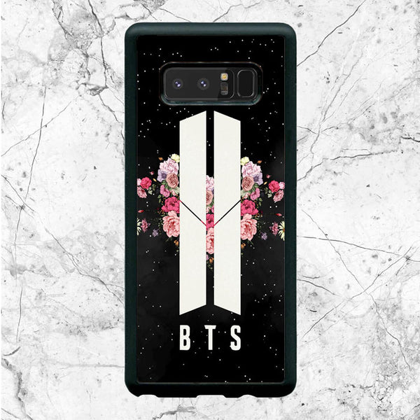 Army Floral Bts Samsung Galaxy Note 8 Case