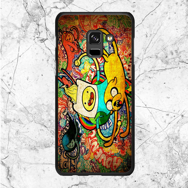 Art Character Adventure Time Samsung Galaxy A8 Plus 2018 Case