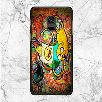 Art Character Adventure Time Samsung Galaxy A8 2018 Case