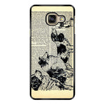 Vintage Dog on Paper Samsung Galaxy A9 Pro Case - Sixtyninecase
