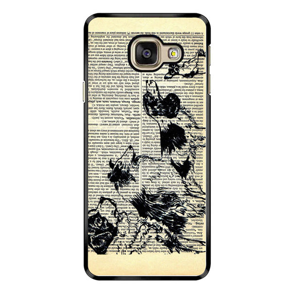 Vintage Dog on Paper Samsung Galaxy A3 2016 Case - Sixtyninecase