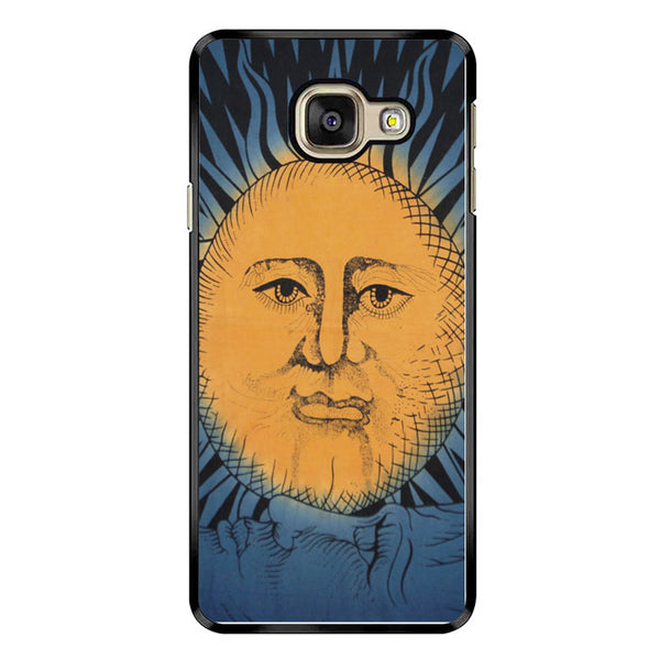 Vintage Sun Moon Painting Art Samsung Galaxy A7 2017 Case - Sixtyninecase