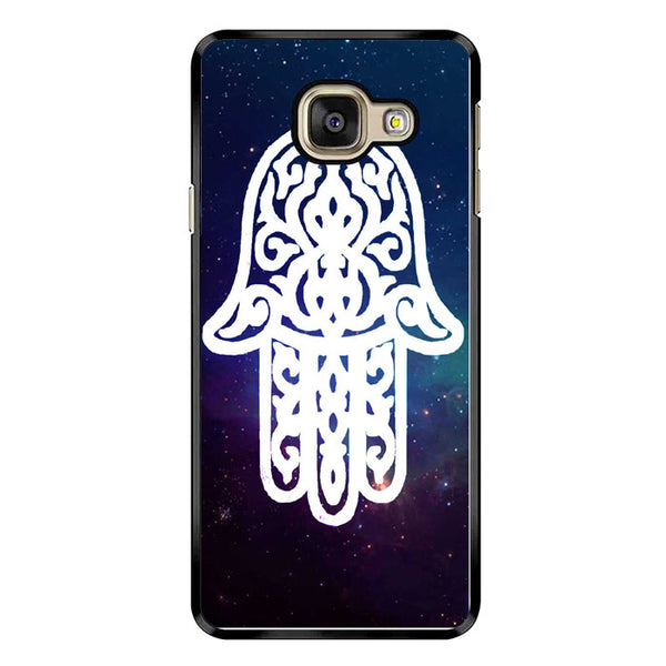 White Galaxy Chamsa Hamsa Hand Of God Samsung Galaxy A7 2016 Case - Sixtyninecase