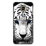 White Tiger Blue Eyes Samsung Galaxy A9 Case - Sixtyninecase