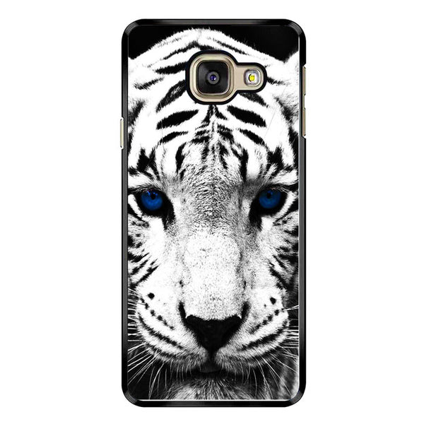 White Tiger Blue Eyes Samsung Galaxy A9 Pro Case - Sixtyninecase