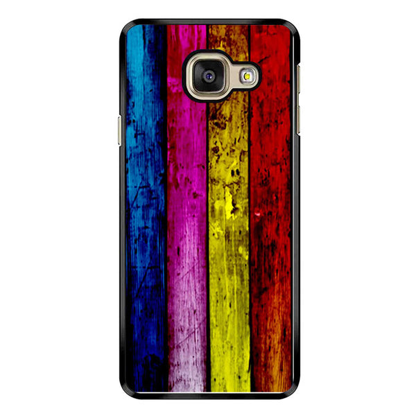 Wood Rainbow Samsung Galaxy A9 Case - Sixtyninecase