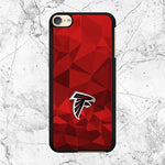 Atlanta Falcons Red Geometric iPod 6 Case