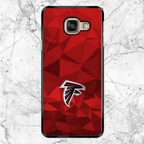 Atlanta Falcons Red Geometric Samsung Galaxy A9 Pro Case