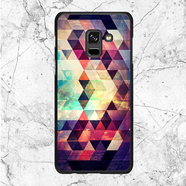 Aztec Sea And The Sunset Samsung Galaxy A8 Plus 2018 Case