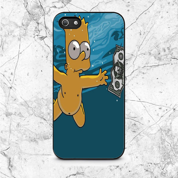 Bart Simpson Nirvana iPhone 5|5S|SE Case
