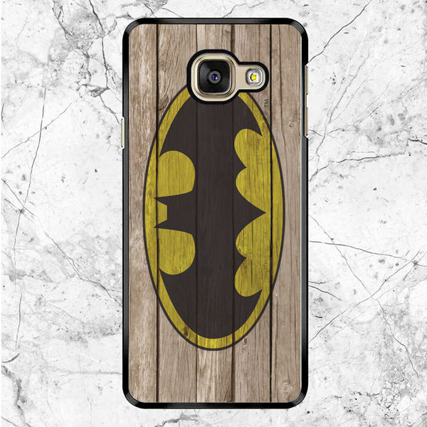 Batman Wood Logo Samsung Galaxy A9 Pro Case