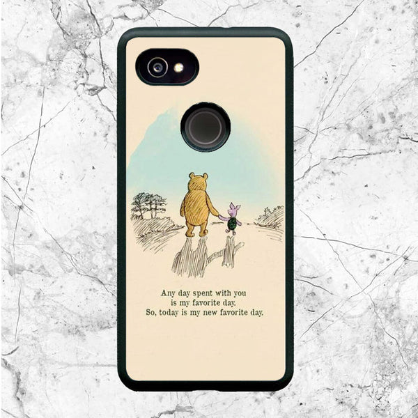 Best Friend Pooh And Piglet Google Pixel 2 XL Case | Sixtyninecase
