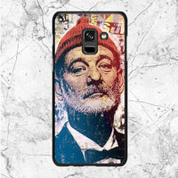 Bill Murray Face Mural Samsung Galaxy A8 Plus 2018 Case