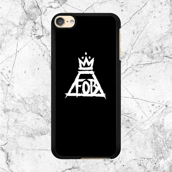 Black White Fall Out Boy Logo iPod 6 Case