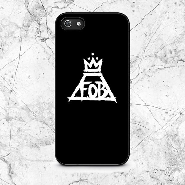 Black White Fall Out Boy Logo iPhone 5|5S|SE Case